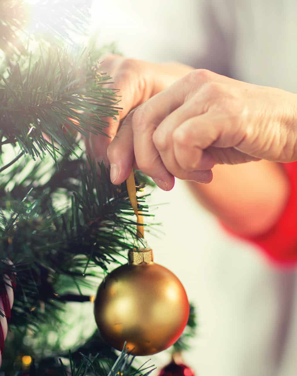 Wellbeing - events: Christmas Baubles