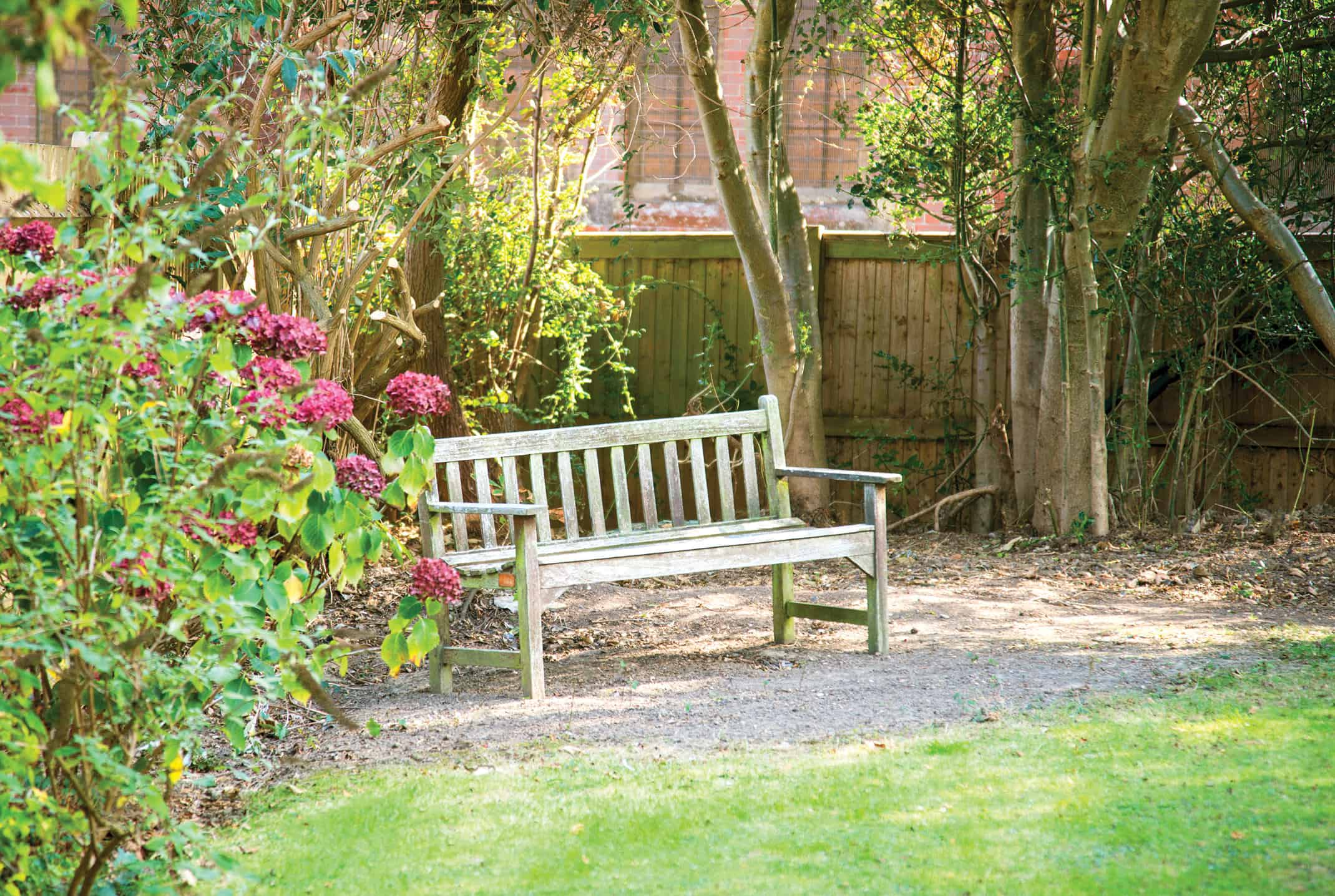 Accommodation - Our gardens at St Vincent's