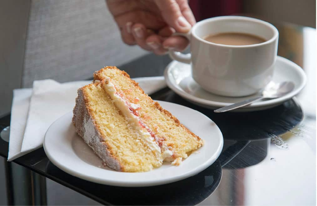 Wellbeing - Tea and cake at St Vincent's