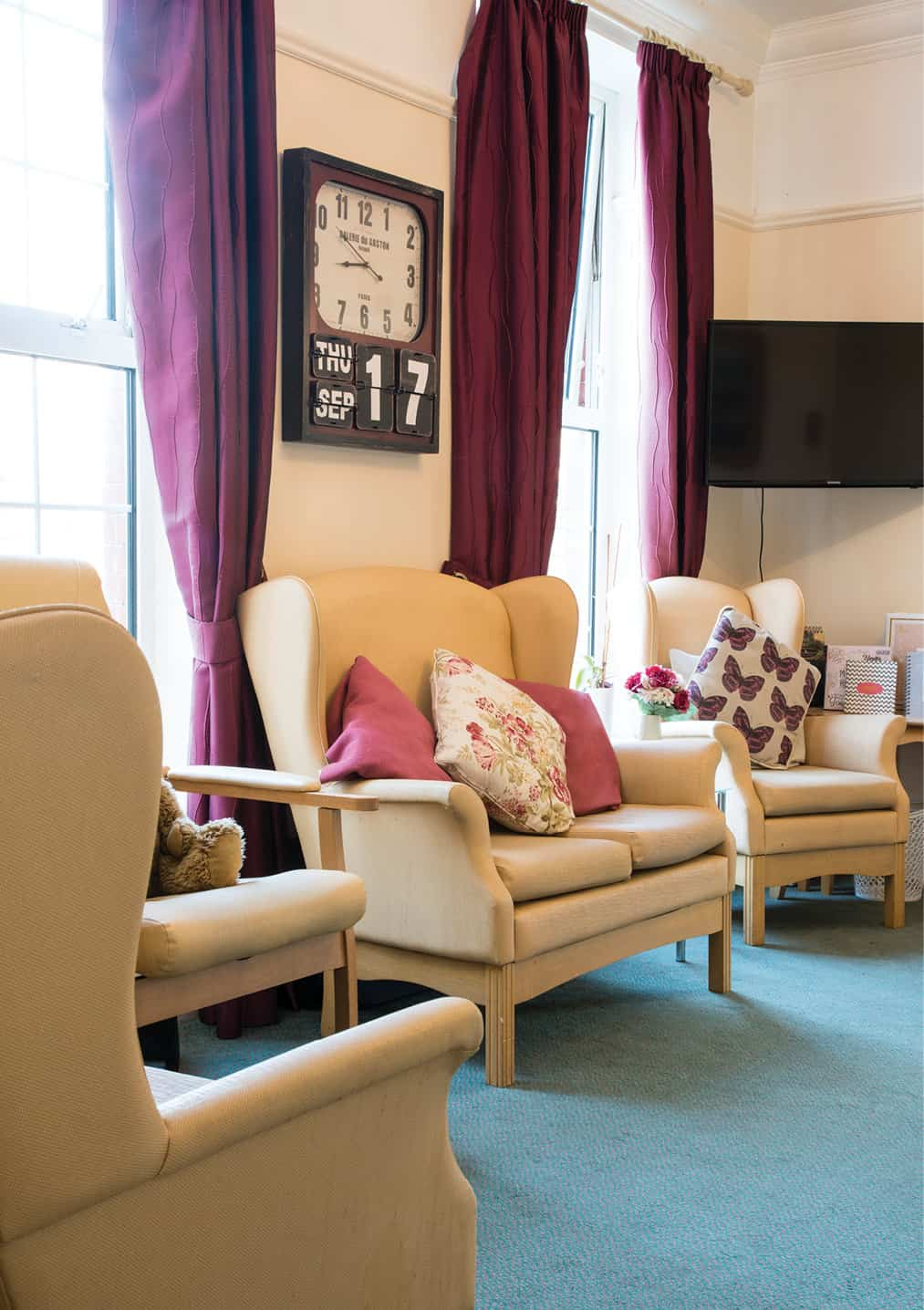 Accommodation - St Vincent's Living area