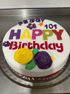 Special birthday cake